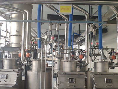 Centralized Feeding And Batching System