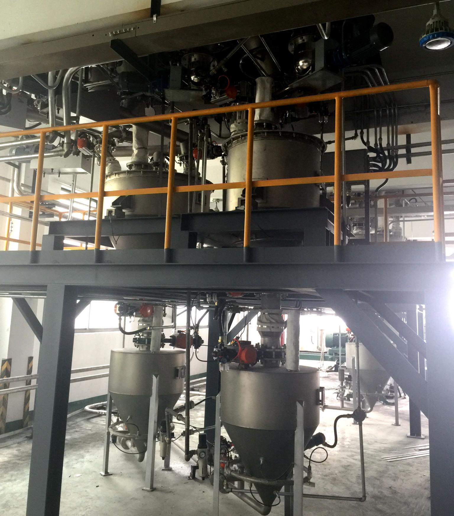 Plastic Batching Modified Automatic Production Line for Jiemei Technology Co.