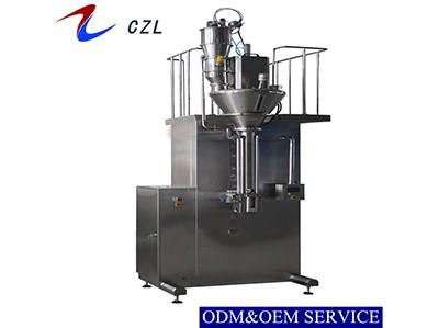Bottom Filling Semi-automatic Vertical Spiral Packing Machine For Powder
